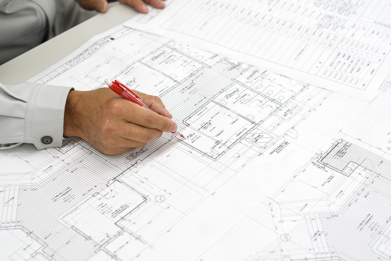 建築設計図面